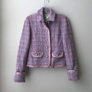 Abercrombie & Fitch // Wool Tweed Blazer
